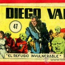Giornalini: DIEGO VALOR , Nº 47 , CID , ORIGINAL , DV47. Lote 37218977