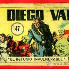 Giornalini: DIEGO VALOR , Nº 47 , CID , ORIGINAL , DV47B. Lote 37218990