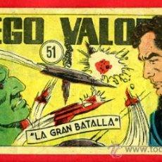 Giornalini: DIEGO VALOR , Nº 51 , CID , ORIGINAL , DV51A. Lote 37219084