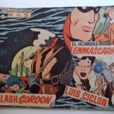 Tebeos: EL HOMBRE EBMASCARADO-FLASH GORDON-LUIS CILON.PUBLICACIONES MAS Nº 11. Lote 37512487