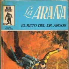 Tebeos: TEBEOS-COMICS GOYO - ARAÑA, LA ( SPIDER ) 1ª EDICION Nº 22 EUREDIT 1971 - *XX99. Lote 37543857