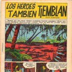 Tebeos: LOS HÉROES TAMBIÉN TIEMBLAN. BOIXHER 1967.. Lote 37638813