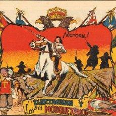 Tebeos: TEBEOS-COMICS GOYO - D'ARTAGNAN Y LOS 3 MOSQUETEROS *- BEAUMONT - 1955 - PRECIOSO Y RARISIMO *BB99. Lote 37645271