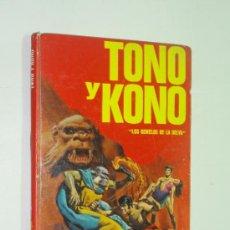 Tebeos: TONO Y KONO - LOS GEMELOS DE LA SELVA - COLECCION JUVENIL TELE - FHER 1977. Lote 38105161
