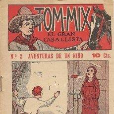 Tebeos: TOM-MIX EL GRAN CABALLISTA (Nº 2 AVENTURAS DE UN NIÑO). Lote 38539639