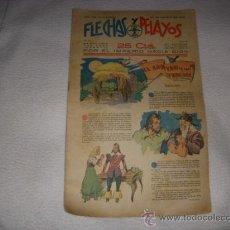Tebeos: FLECHAS Y PELAYOS Nº 37, AÑO 1939, EDITORIAL FE Y JONS. Lote 38819978