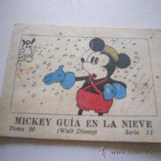 Tebeos: CUENTOS SATURNINO CALLEJA MICKEY SERIE II TOMO 36 MICKEY GUIA EN LA NIEVE 1936 O 1942 C42 . Lote 38914388