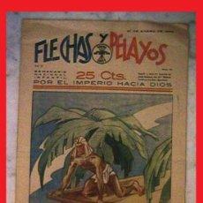 Tebeos: TEBEO FLECHAS Y PELAYOS 1941. Lote 38898372