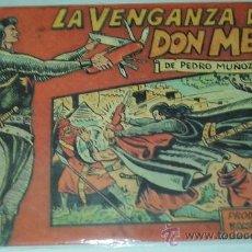 Tebeos: LA VENGANZA DE DON MENDO (CRUZADO NEGRO) - DIRECCION TRICICLE - ORIGINAL. Lote 39112113