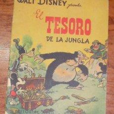 Tebeos: WALT DISNEY PRESENTA EL TESORO DE LA JUNGLA EDITORIAL ABRIL BUENOS AIRES. Lote 39218200
