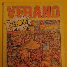 Tebeos: VERANO SHOW NO.2 AÑO 1979.. Lote 39889242