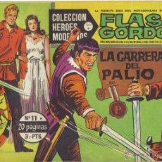 Tebeos: FLASH GORDON Nº 11. LA CARRERA DEL PALIO. COLECCION HEROES MODERNOS, SERIE B. LITERACOMIC.. Lote 40044635