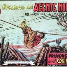 Tebeos: TEBEOS-COMICS GOYO - AGENTE NORTON - G MEN - Nº 4 - EJEMPLAR MUY DIFICIL *UU99. Lote 40467831