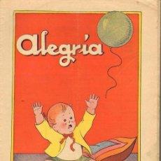 Tebeos: TEBEOS-COMICS GOYO - ALEGRIA - Nº 325 - DEL AÑO 1931 - RARISIMA - PUCK - FERDAL - MENA - ETC..*FF99. Lote 40478029