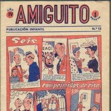 Tebeos: TEBEOS-COMICS GOYO - AMIGUITO *- Nº 12 - AÑO 4 - DIFICIL - ED. SIMBOLO 1956 *UU99. Lote 40489457