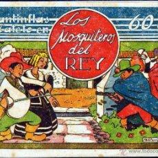 Tebeos: TEBEOS-COMICS GOYO - CANTINFLAS Y CATETO - LOS MOSQUITEROS DEL REY - ED. LERSO -1945- MUY RARO *XX99. Lote 40602011