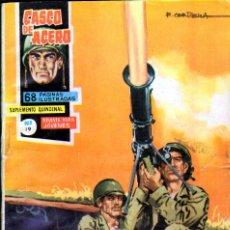 Tebeos: TEBEOS-COMICS GOYO - CASCO DE ACERO - Nº 19 - ED. MANHATTAN - 1963 - RARO *UU99. Lote 40602740