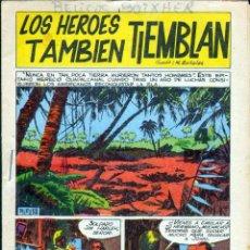 Tebeos: TEBEOS-COMICS GOYO - RELATOS BELICOS BOIXHER - LOS HEROES TAMBIEN TIEMBLAN - RARO *BB99. Lote 40676756