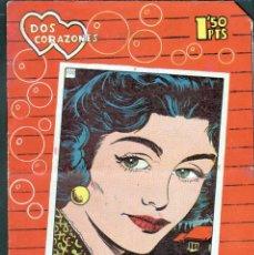 Tebeos: TEBEOS-COMICS GOYO - DOS CORAZONES - Nº 100 - ED. INDEDI - 1958 - MUY DIFICIL *AA99. Lote 40804486