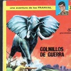 Tebeos: TEBEOS-COMICS GOYO - GRAN AVENTURA - LOS FRANVAL - JAIMES LIBROS - 1969 - 1ª EDICION - RARO *BB99. Lote 40839336