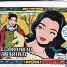 Tebeos: TEBEOS-COMICS GOYO - GRACIELA - Nº 194 - TORAY - 1ª EDICION - 1956 *AA99. Lote 40841767