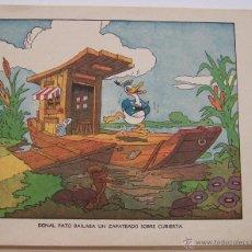 Tebeos: 1935 * PRIMER DIBUJO ANIMADO EN QUE APARECIÓ EL PATO DONALD * EDICION ESPAÑOLA * LA GALLINITA SABIA. Lote 40955068