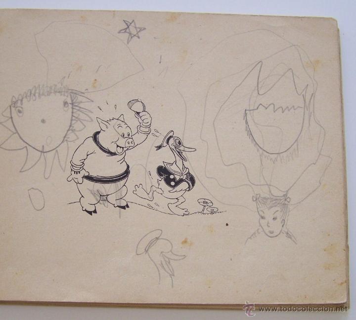 Tebeos: 1935 * PRIMER dibujo animado en que apareció el PATO DONALD * Edicion española * La Gallinita Sabia - Foto 4 - 40955068