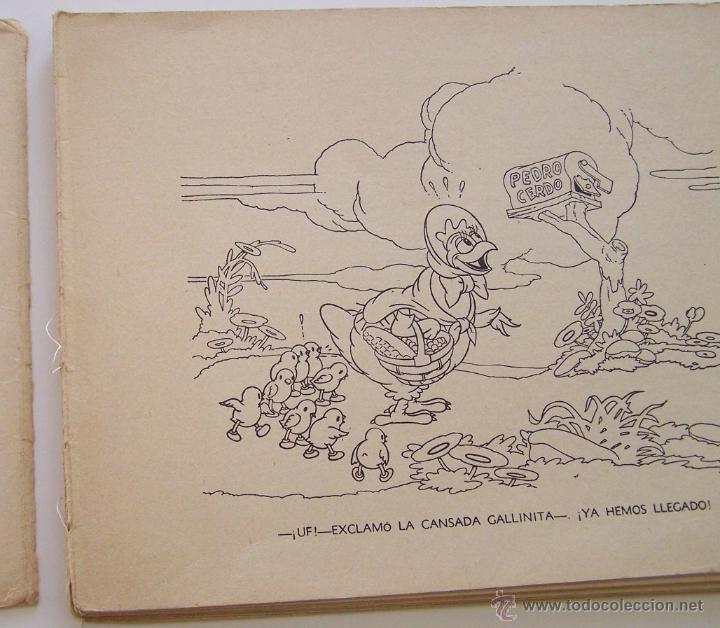 Tebeos: 1935 * PRIMER dibujo animado en que apareció el PATO DONALD * Edicion española * La Gallinita Sabia - Foto 5 - 40955068