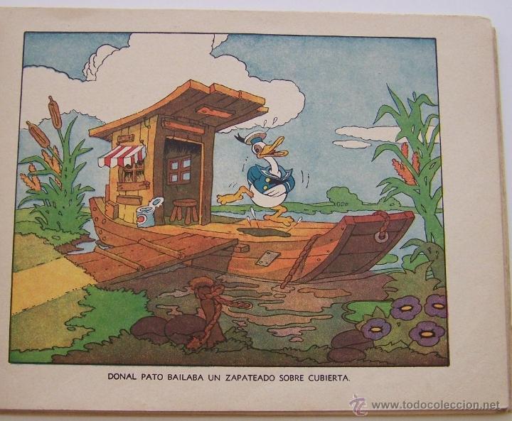 Tebeos: 1935 * PRIMER dibujo animado en que apareció el PATO DONALD * Edicion española * La Gallinita Sabia - Foto 6 - 40955068