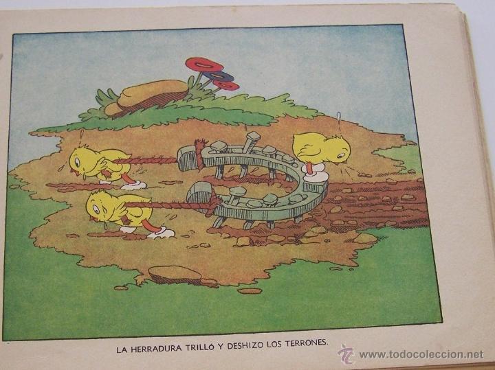 Tebeos: 1935 * PRIMER dibujo animado en que apareció el PATO DONALD * Edicion española * La Gallinita Sabia - Foto 7 - 40955068