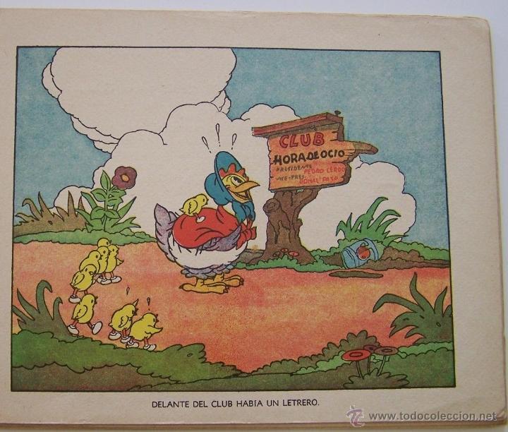 Tebeos: 1935 * PRIMER dibujo animado en que apareció el PATO DONALD * Edicion española * La Gallinita Sabia - Foto 8 - 40955068