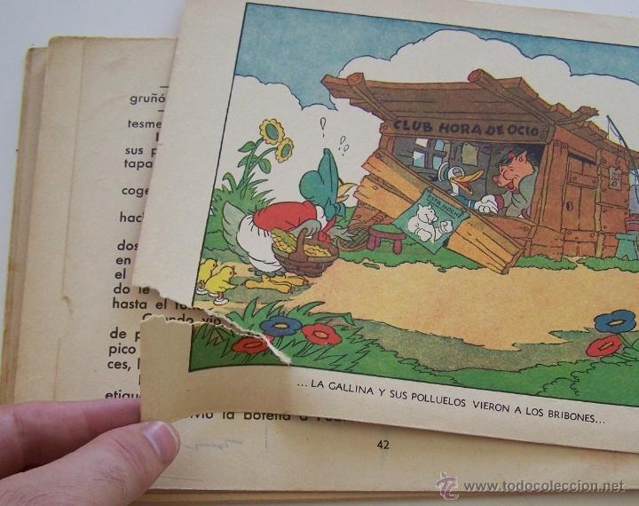 Tebeos: 1935 * PRIMER dibujo animado en que apareció el PATO DONALD * Edicion española * La Gallinita Sabia - Foto 10 - 40955068