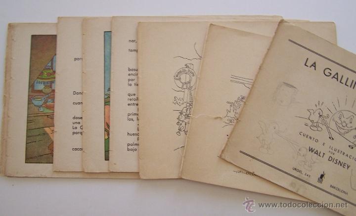 Tebeos: 1935 * PRIMER dibujo animado en que apareció el PATO DONALD * Edicion española * La Gallinita Sabia - Foto 12 - 40955068