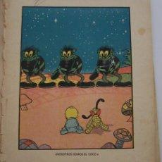 Tebeos: CANCION DE CUNA POR WALT DISNEY PRIMERA EDICIÓN : JULIO DE 1935 EDITORIAL MOLINO , BARCELONA. Lote 40958462