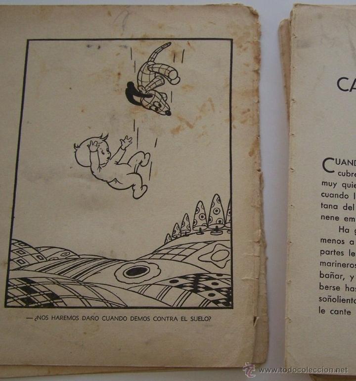 Tebeos: CANCION DE CUNA por WALT DISNEY Primera edición : julio de 1935 Editorial Molino , Barcelona - Foto 6 - 40958462
