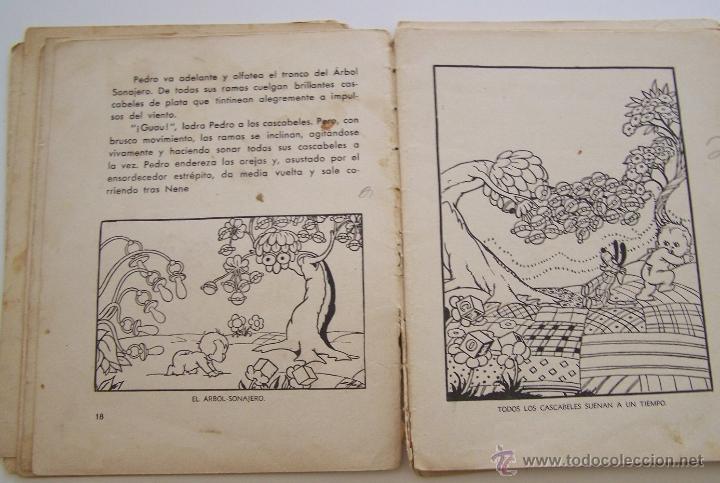 Tebeos: CANCION DE CUNA por WALT DISNEY Primera edición : julio de 1935 Editorial Molino , Barcelona - Foto 8 - 40958462