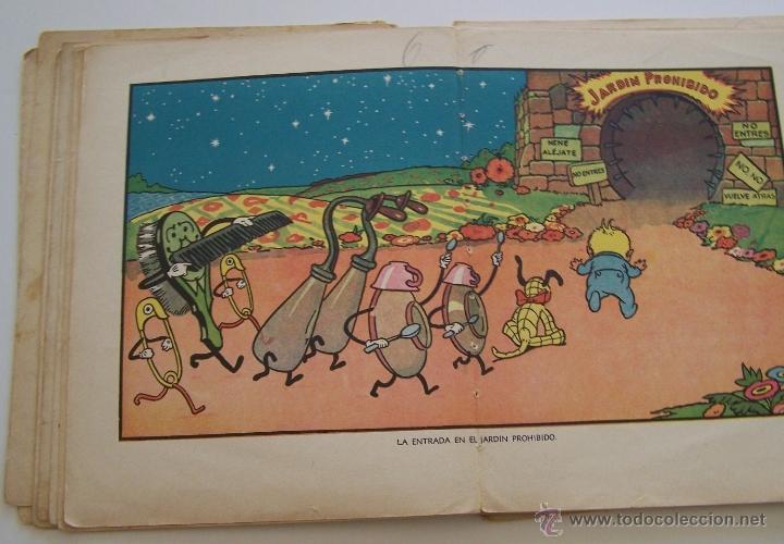 Tebeos: CANCION DE CUNA por WALT DISNEY Primera edición : julio de 1935 Editorial Molino , Barcelona - Foto 10 - 40958462