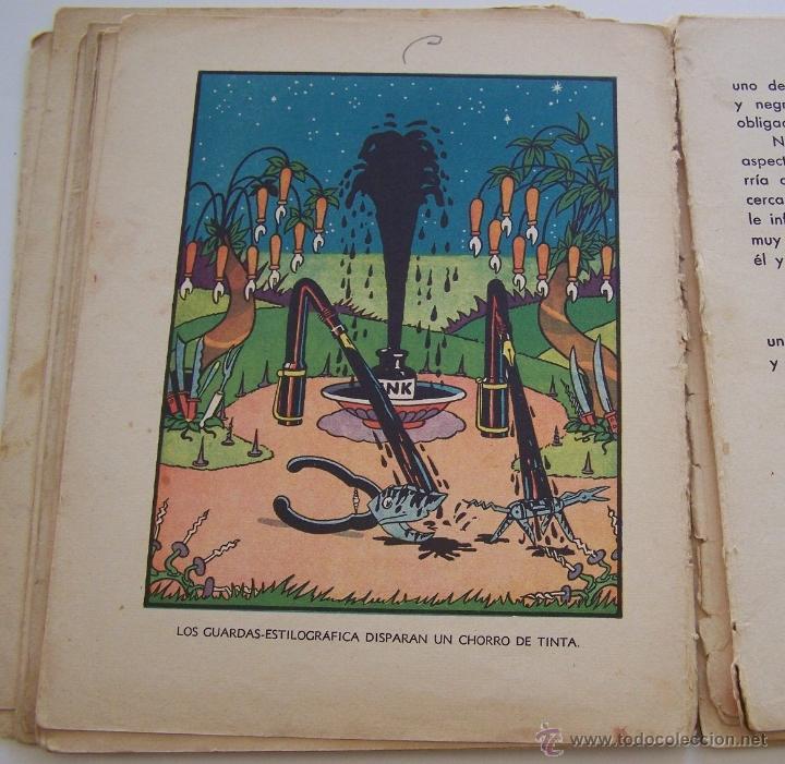 Tebeos: CANCION DE CUNA por WALT DISNEY Primera edición : julio de 1935 Editorial Molino , Barcelona - Foto 11 - 40958462
