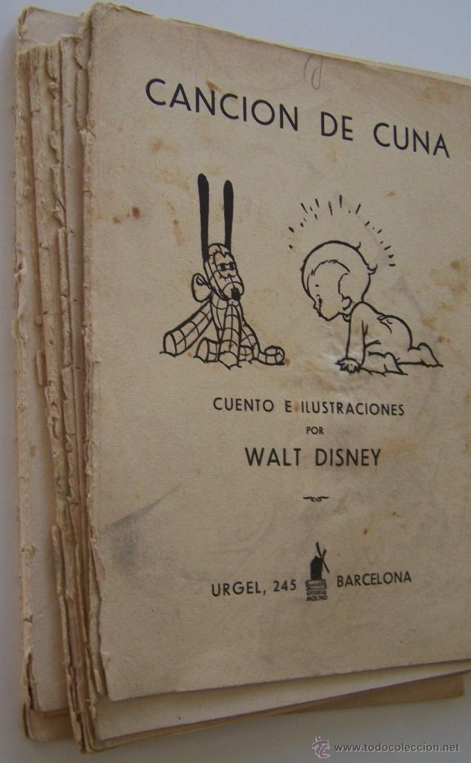 Tebeos: CANCION DE CUNA por WALT DISNEY Primera edición : julio de 1935 Editorial Molino , Barcelona - Foto 13 - 40958462