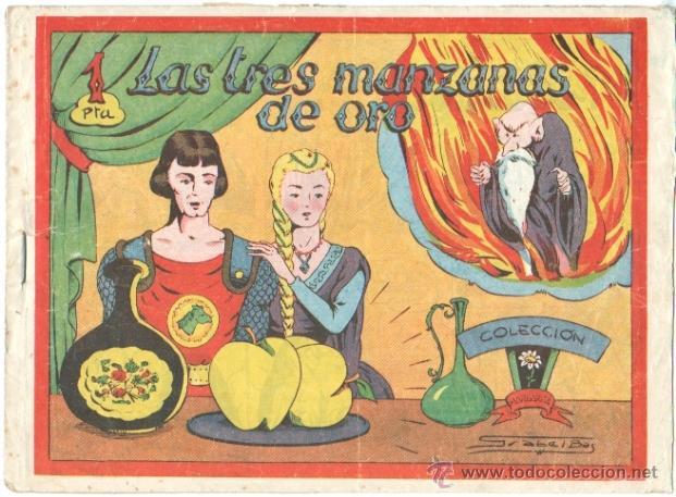 COLECCION MARGARITA ORIGINAL EDI. FAVENCIA 1951 - LAS TRES MANZANAS DE ORO (Tebeos y Comics - Tebeos Otras Editoriales Clásicas)