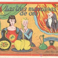 Tebeos: COLECCION MARGARITA ORIGINAL EDI. FAVENCIA 1951 - LAS TRES MANZANAS DE ORO. Lote 41252909
