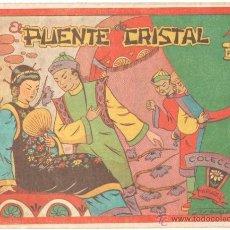 Tebeos: COLECCION MARGARITA ORIGINAL EDI. FAVENCIA 1951 - EL PUENTE DE CRISTAL. Lote 41252969