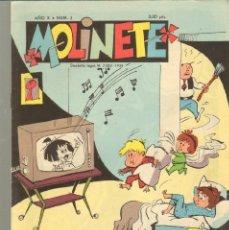 Tebeos: TEBEOS-COMICS CANDY - MOLINETE - AÑO X Nº 3 - DULMA - 1956 *CC99. Lote 41445945