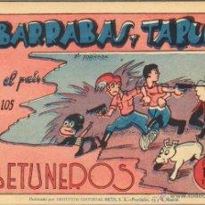 Tebeos: TEBEOS-COMICS CANDY - BARRABAS Y TARUGO - COMPLETA 3 Nº - 1947 - M. DE ARCE *XX99. Lote 41527075