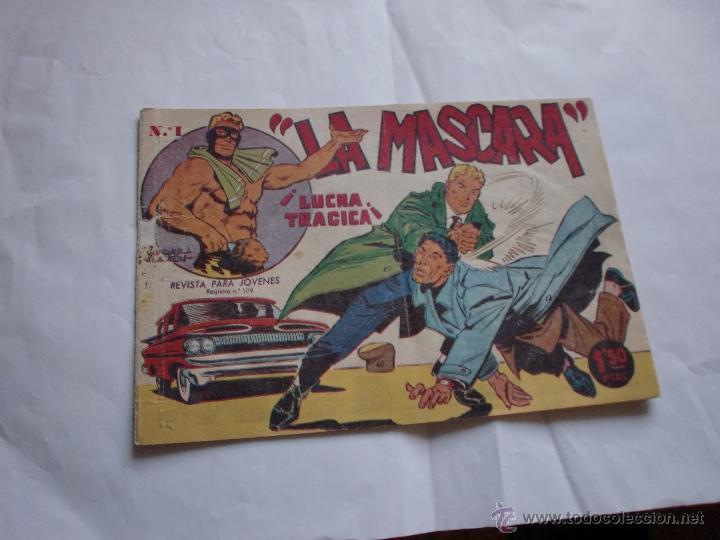 JIM DALE LA MASCARA Nº 1 ORIGINAL (Tebeos y Comics - Tebeos Otras Editoriales Clásicas)