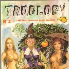 Tebeos: TEBEOS-COMICS CANDY - TROGLOS - Nº 2 - ED. ASTRI - 1988 *AA99. Lote 41657666