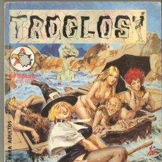 Tebeos: TEBEOS-COMICS CANDY - TROGLOS - ALBUM Nº 1 - ED. ASTRI - 1988 - 300 PGS.*AA99. Lote 41657697