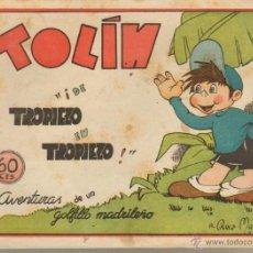 Tebeos: TEBEOS-COMICS CANDY - TOLIN - DE TROPIEZO EN TROPIEZO - GUERRI - 1948 - *DD99. Lote 41695811