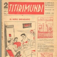 Tebeos: TEBEOS-COMICS CANDY - TITIRIMUNDI - Nº 4 - ED. MON - 1953 *AA99. Lote 41696498