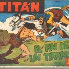 Tebeos: TEBEOS-COMICS CANDY - TITAN - Nº 40 - ED. ACROPOLIS - 1961 - ULTIMO *UU99. Lote 41696995